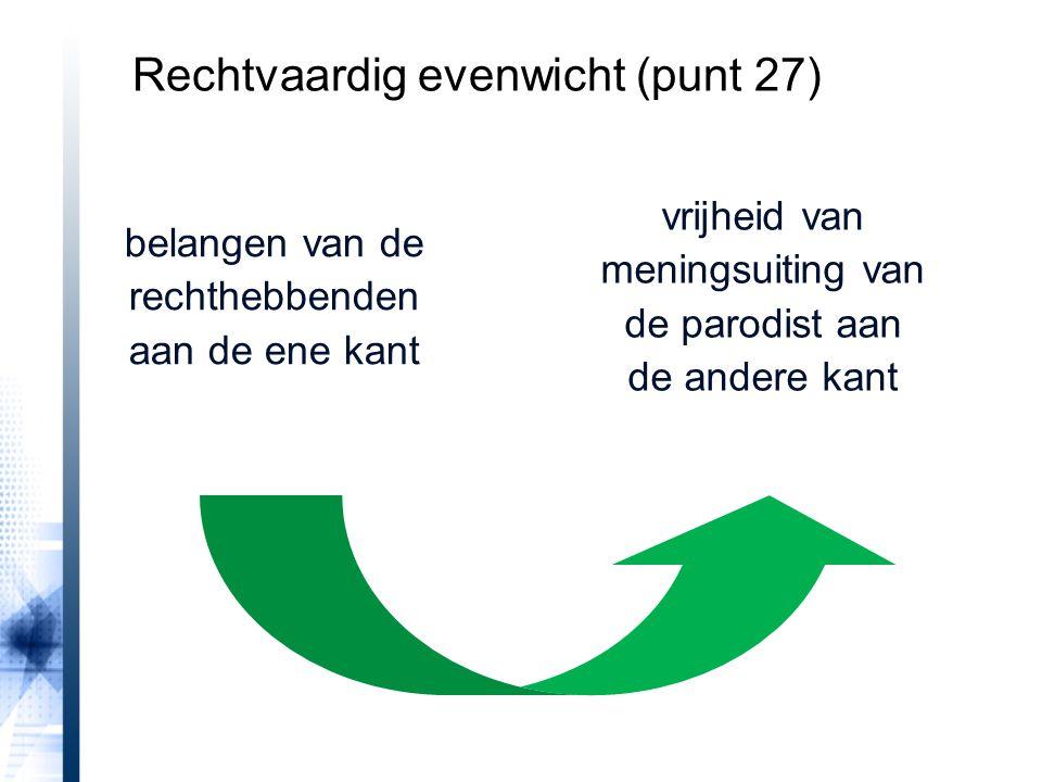 Rechtvaardig evenwicht (punt 27)