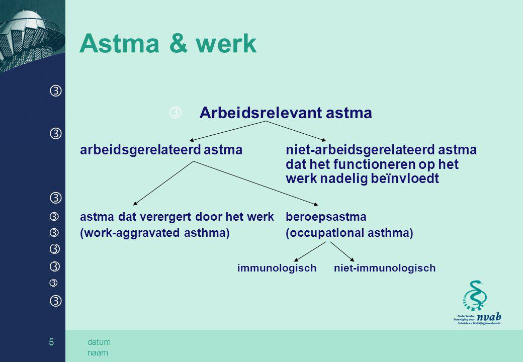 Arbeidsrelevant astma