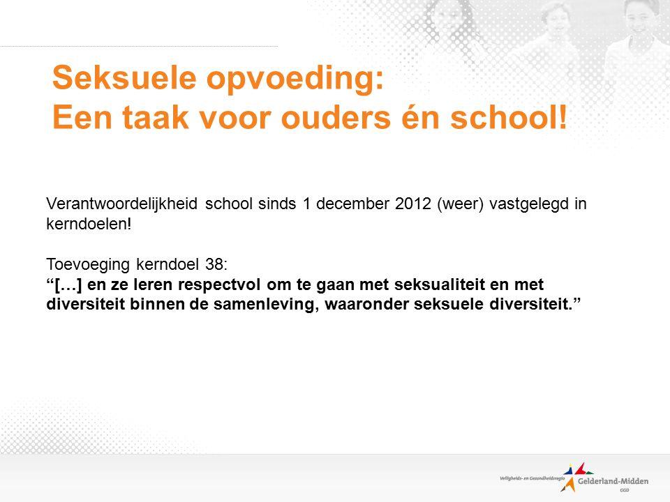 Seksuele opvoeding: Een taak voor ouders én school!