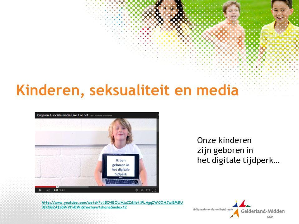 Kinderen, seksualiteit en media