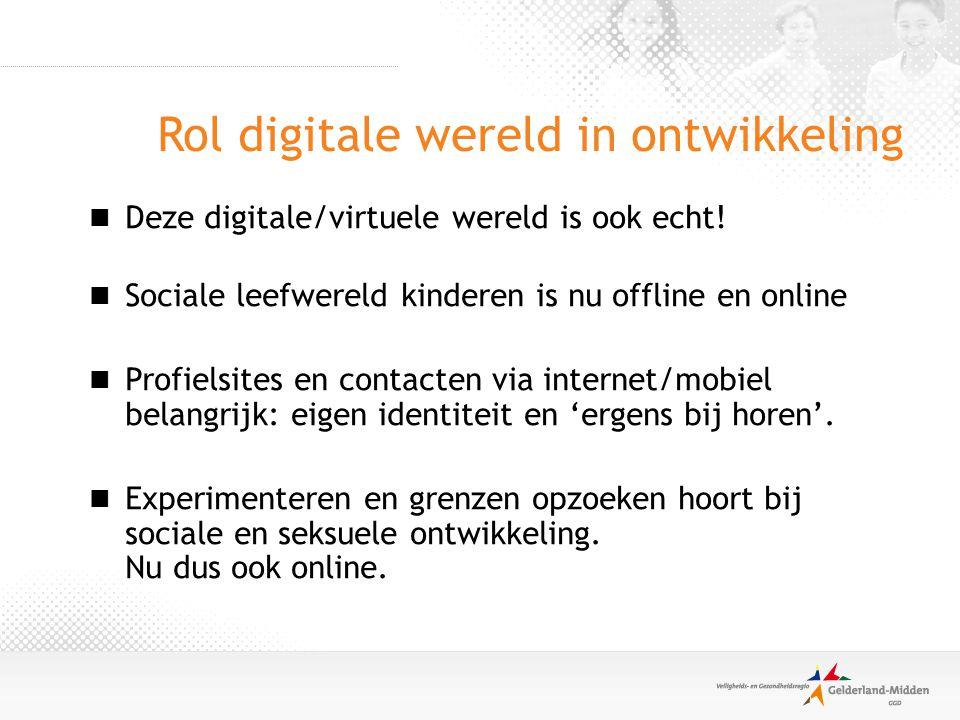 Rol digitale wereld in ontwikkeling