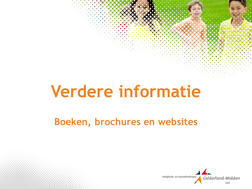 Boeken, brochures en websites