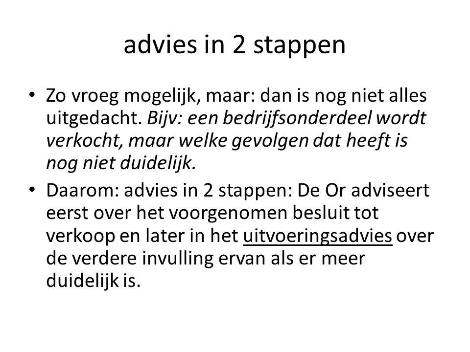 advies in 2 stappen