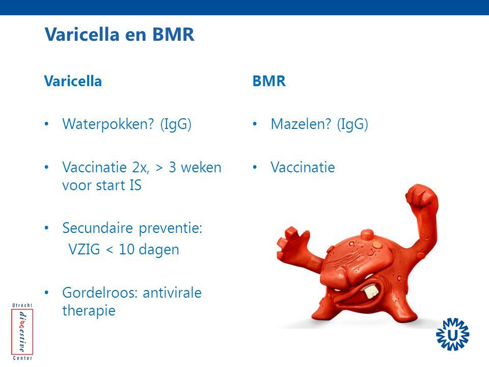 Varicella en BMR Varicella Waterpokken (IgG)