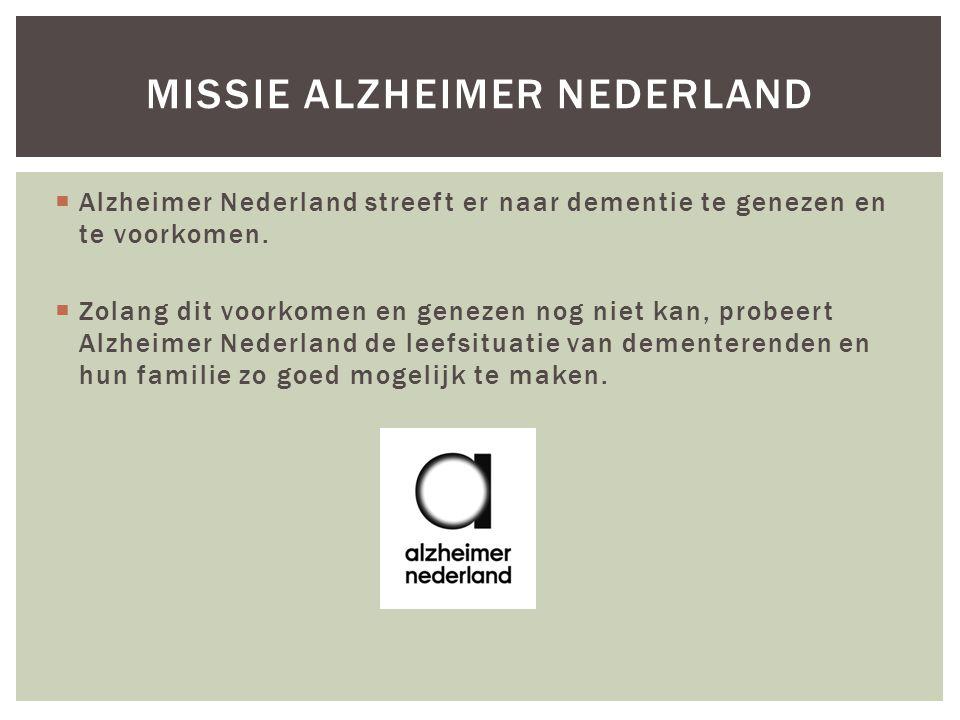 Missie Alzheimer Nederland
