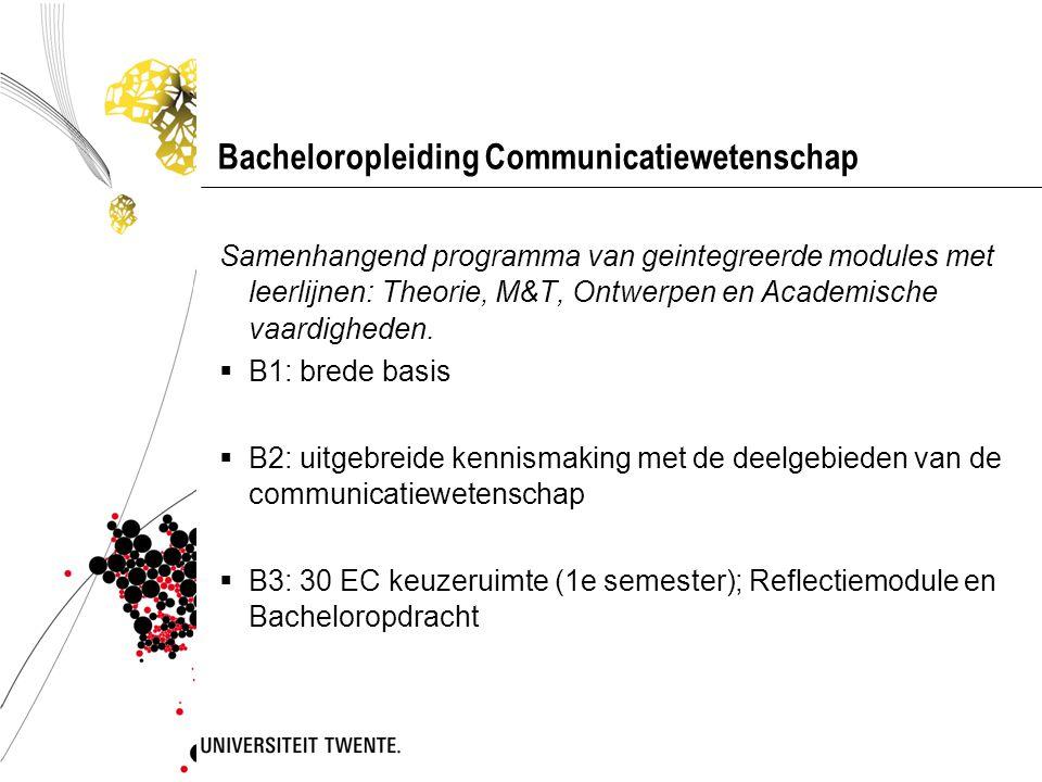 Bacheloropleiding Communicatiewetenschap