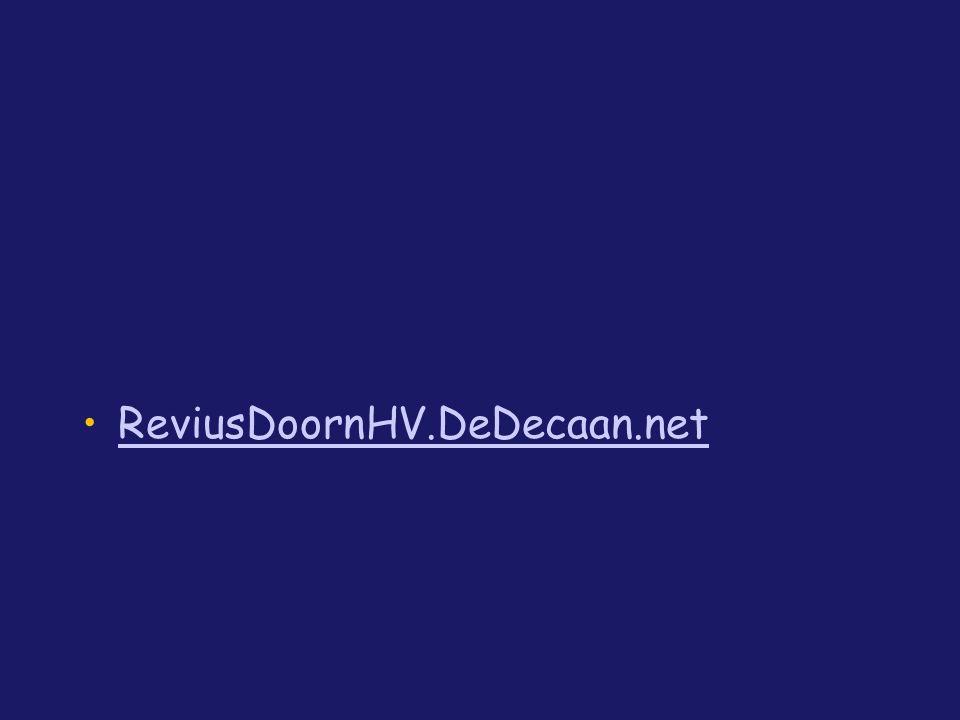 ReviusDoornHV.DeDecaan.net