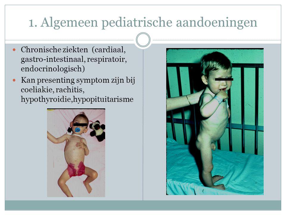 1. Algemeen pediatrische aandoeningen