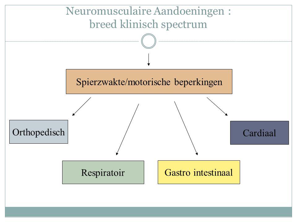 Neuromusculaire Aandoeningen : breed klinisch spectrum