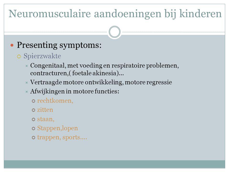 Neuromusculaire aandoeningen bij kinderen