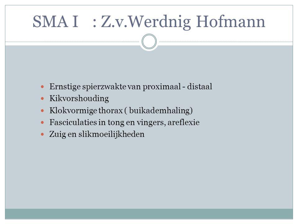 SMA I : Z.v.Werdnig Hofmann