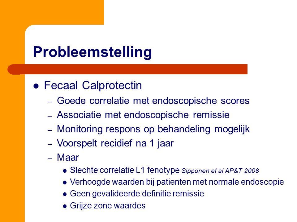 Probleemstelling Fecaal Calprotectin