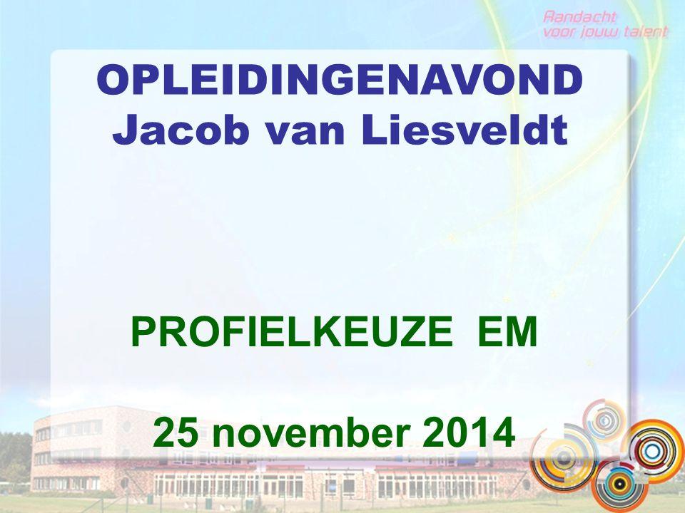 OPLEIDINGENAVOND Jacob van Liesveldt