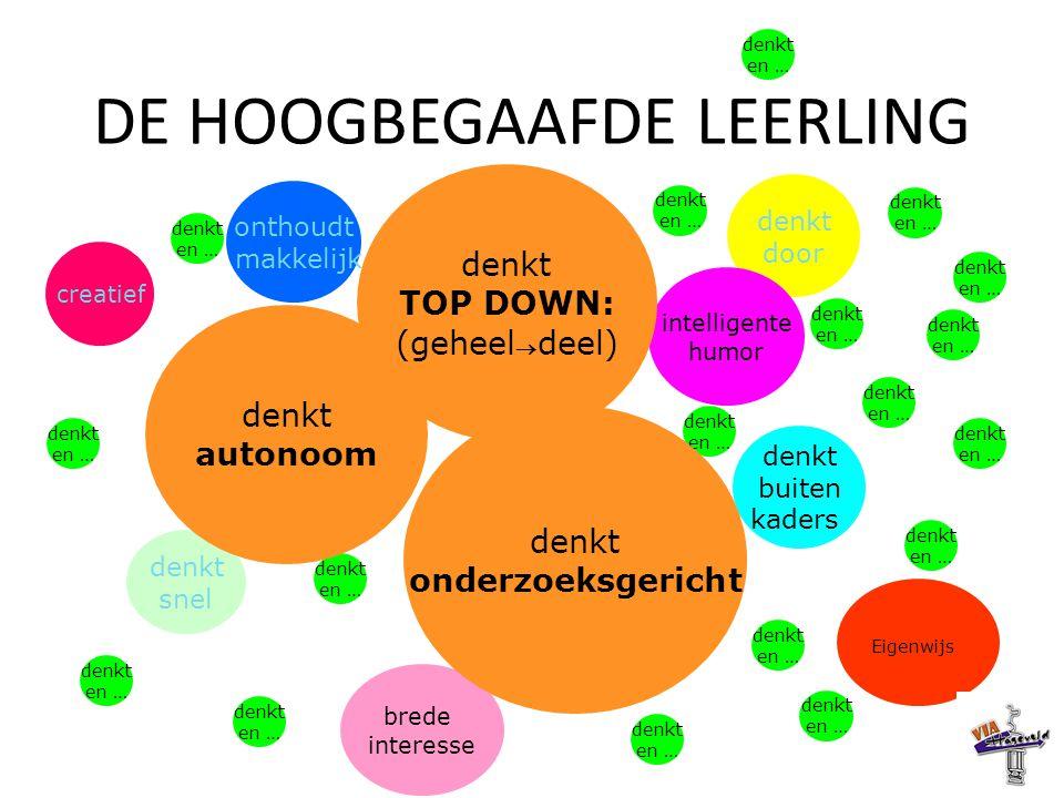 DE HOOGBEGAAFDE LEERLING
