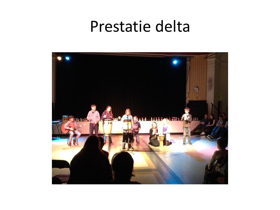 Prestatie delta