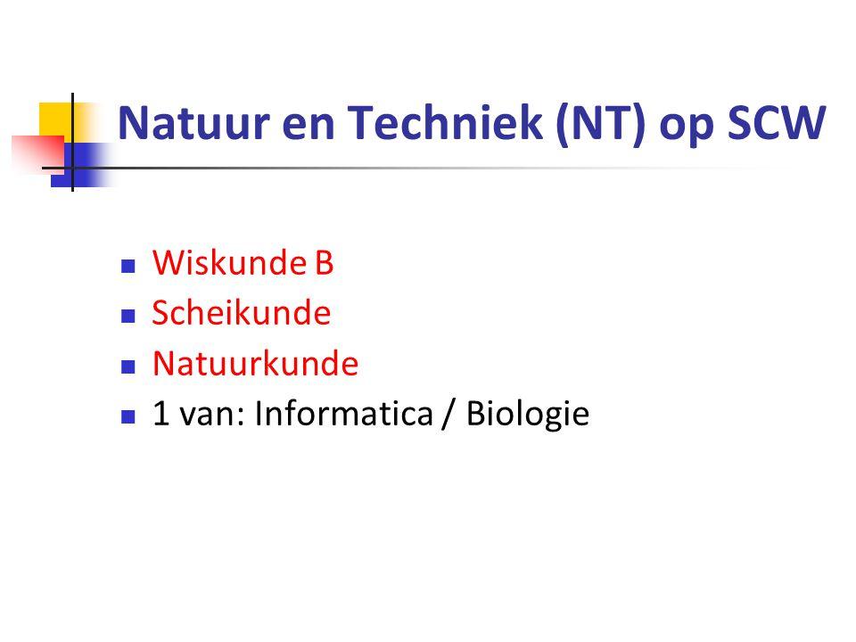 Natuur en Techniek (NT) op SCW