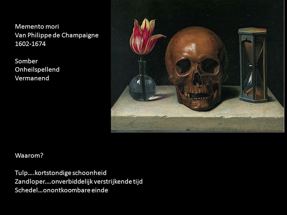 Van Philippe de Champaigne 1602-1674 Somber Onheilspellend Vermanend