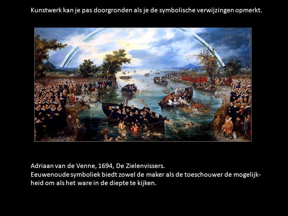 Adriaan van de Venne, 1694, De Zielenvissers.