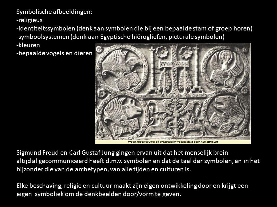 Symbolische afbeeldingen: -religieus