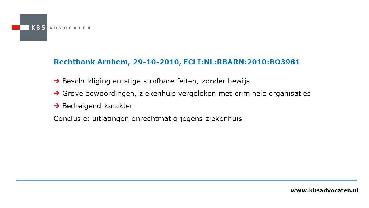 Rechtbank Arnhem, 29-10-2010, ECLI:NL:RBARN:2010:BO3981