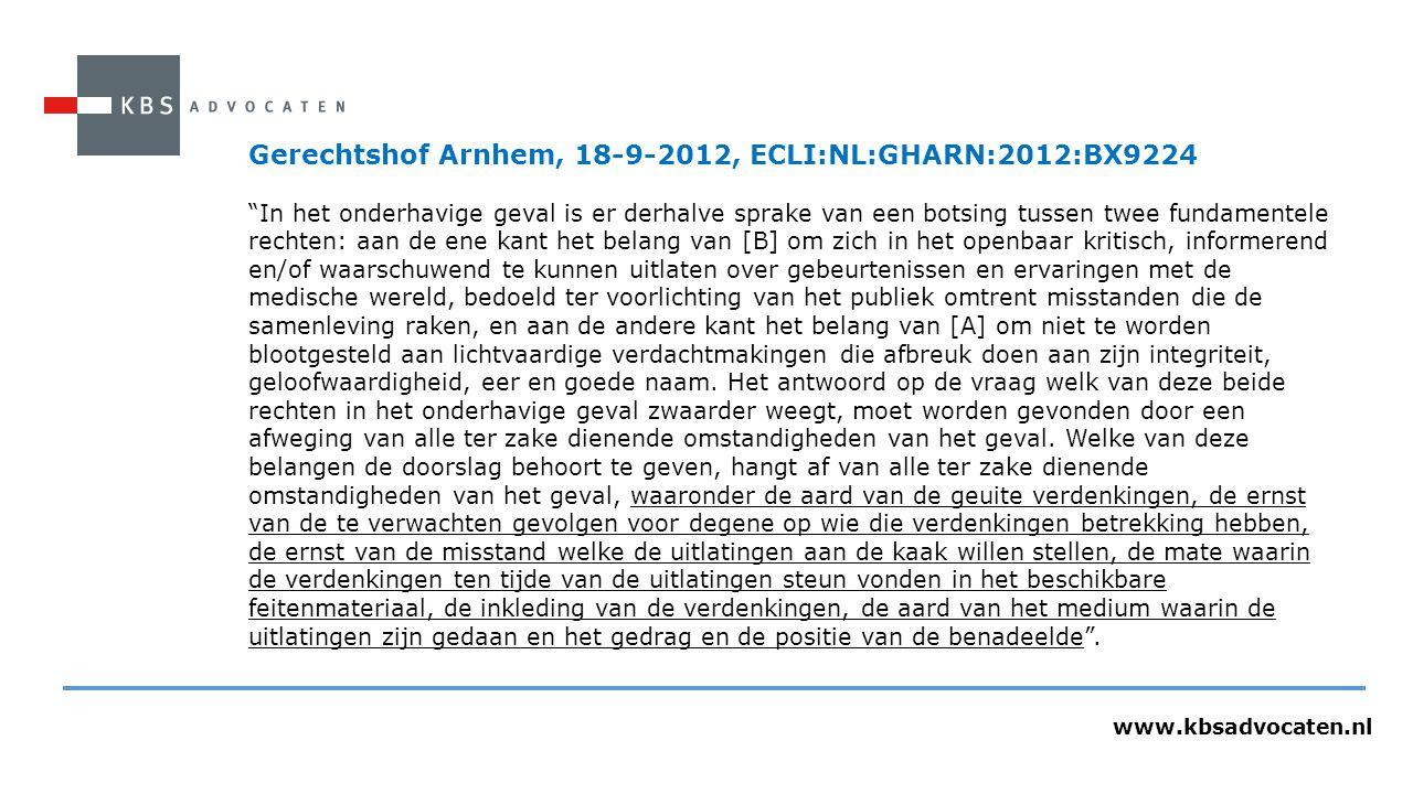 Gerechtshof Arnhem, 18-9-2012, ECLI:NL:GHARN:2012:BX9224