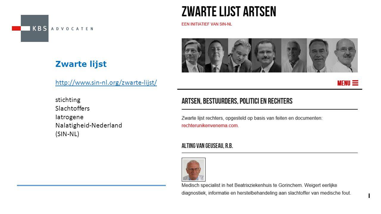 Zwarte lijst http://www.sin-nl.org/zwarte-lijst/ stichting