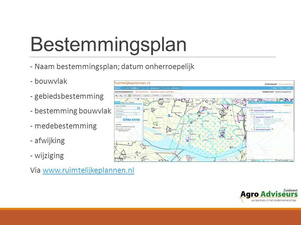 Bestemmingsplan - Naam bestemmingsplan; datum onherroepelijk