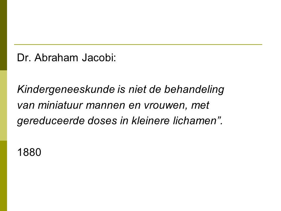 Dr. Abraham Jacobi: Kindergeneeskunde is niet de behandeling. van miniatuur mannen en vrouwen, met.