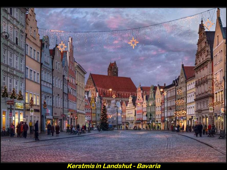 Kerstmis in Landshut - Bavaria