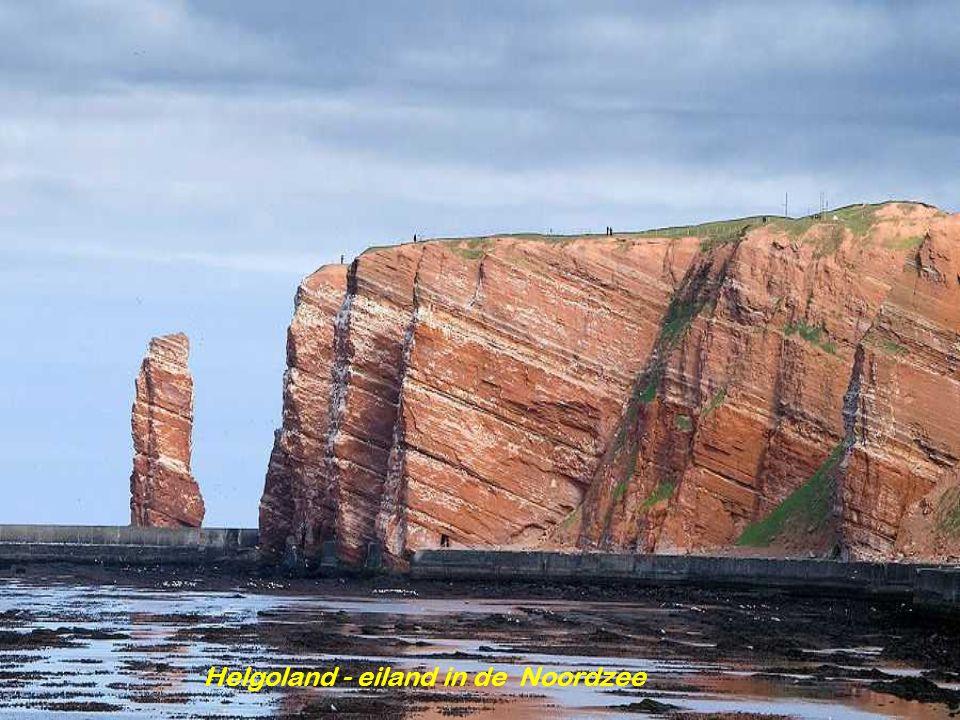Helgoland - eiland in de Noordzee