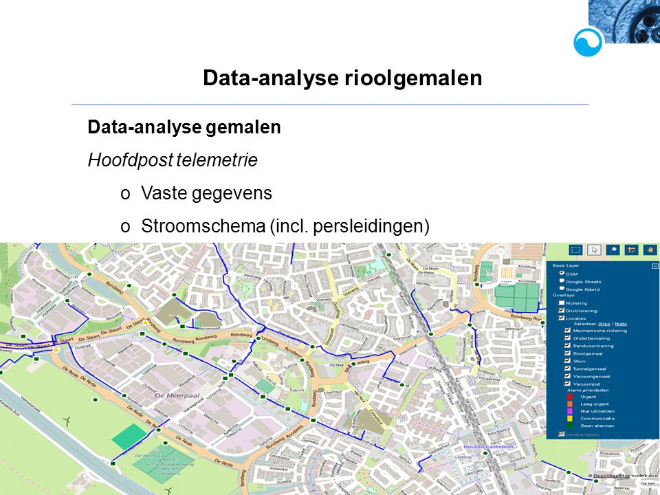 Data-analyse rioolgemalen