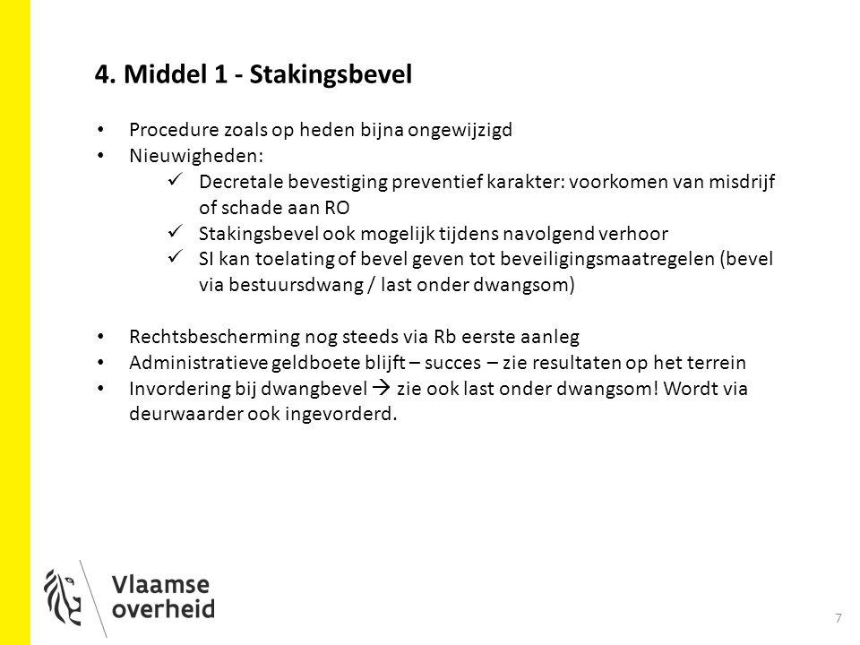 4. Middel 1 - Stakingsbevel