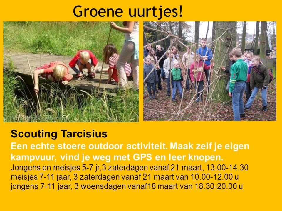Groene uurtjes! Scouting Tarcisius