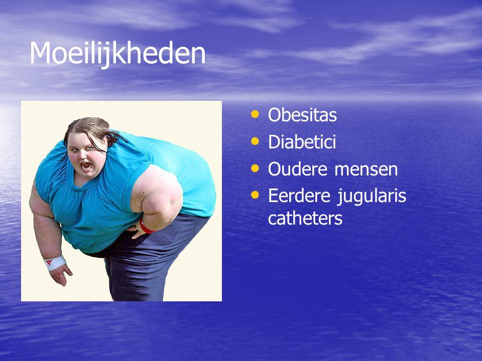 Moeilijkheden Obesitas Diabetici Oudere mensen