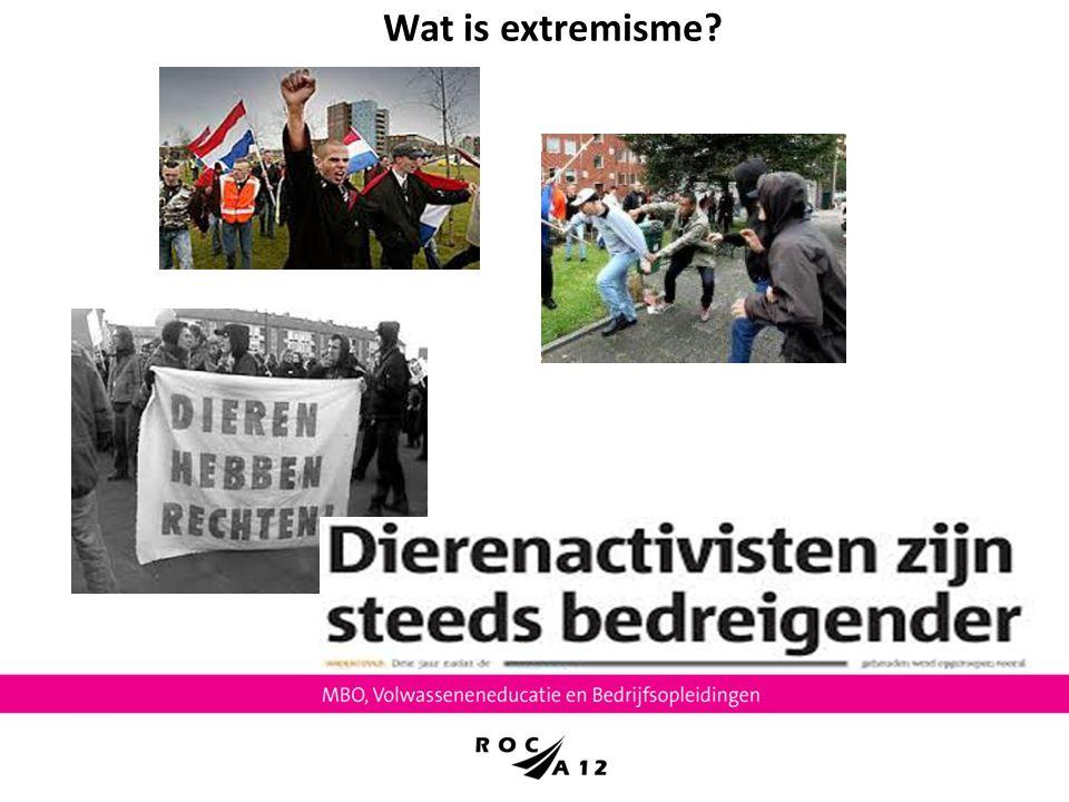 Wat is extremisme