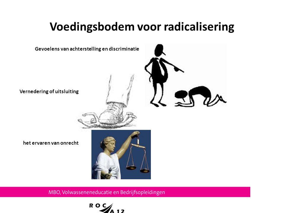 Voedingsbodem voor radicalisering