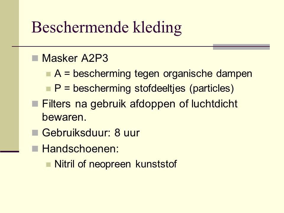 Beschermende kleding Masker A2P3