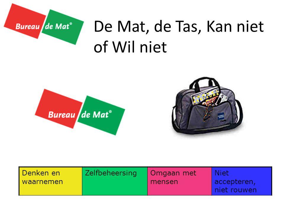 De Mat, de Tas, Kan niet of Wil niet