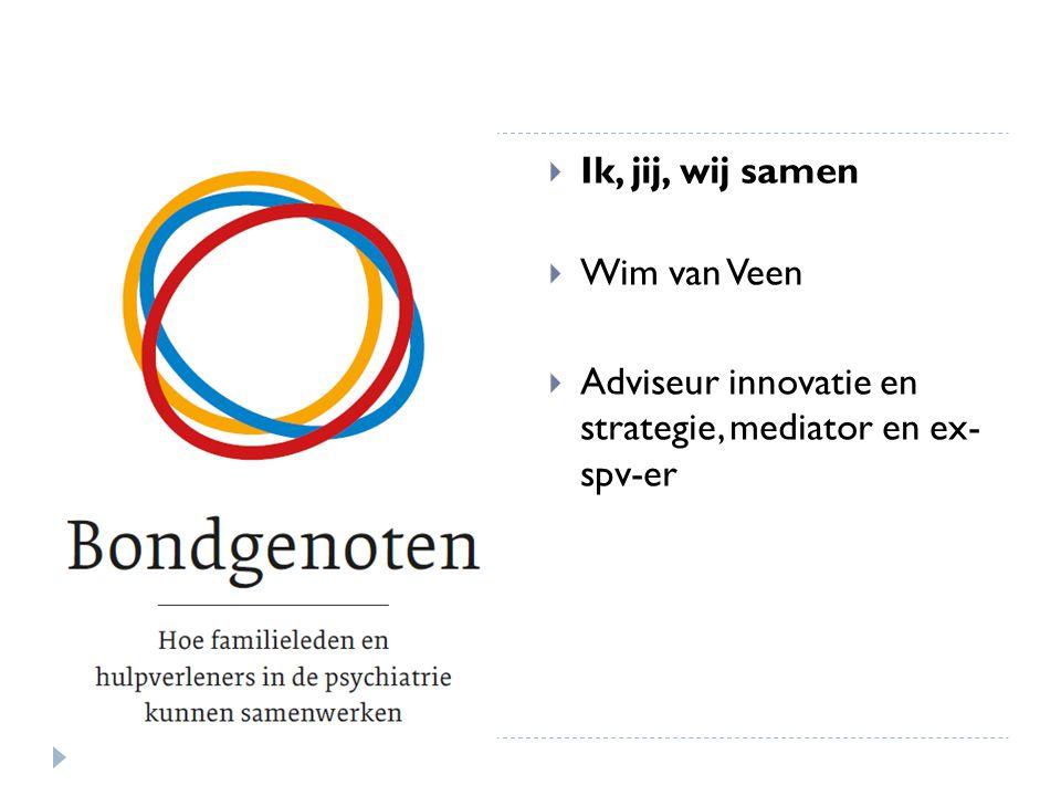 Ik, jij, wij samen Wim van Veen.