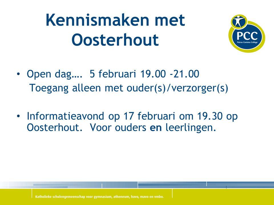 Kennismaken met Oosterhout