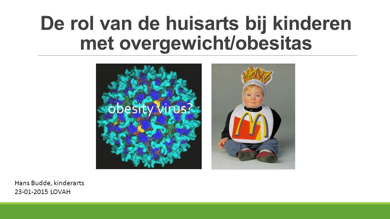 De rol van de huisarts bij kinderen met overgewicht/obesitas