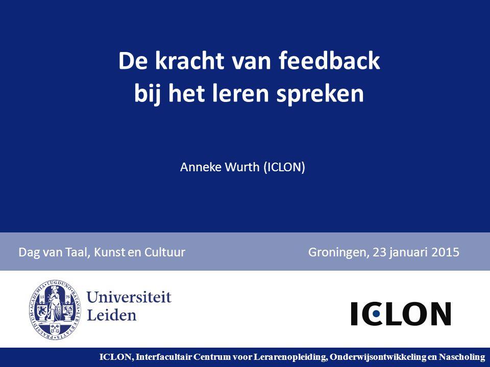 De kracht van feedback bij het leren spreken
