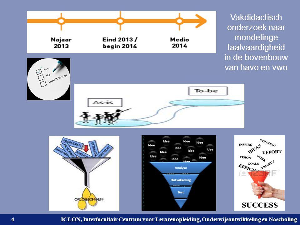 Vakdidactisch onderzoek naar mondelinge taalvaardigheid in de bovenbouw van havo en vwo