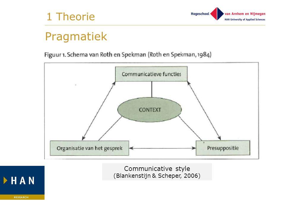 (Blankenstijn & Scheper, 2006)