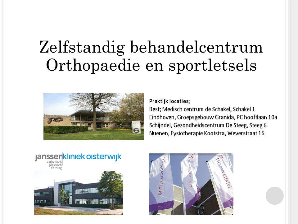 Zelfstandig behandelcentrum Orthopaedie en sportletsels