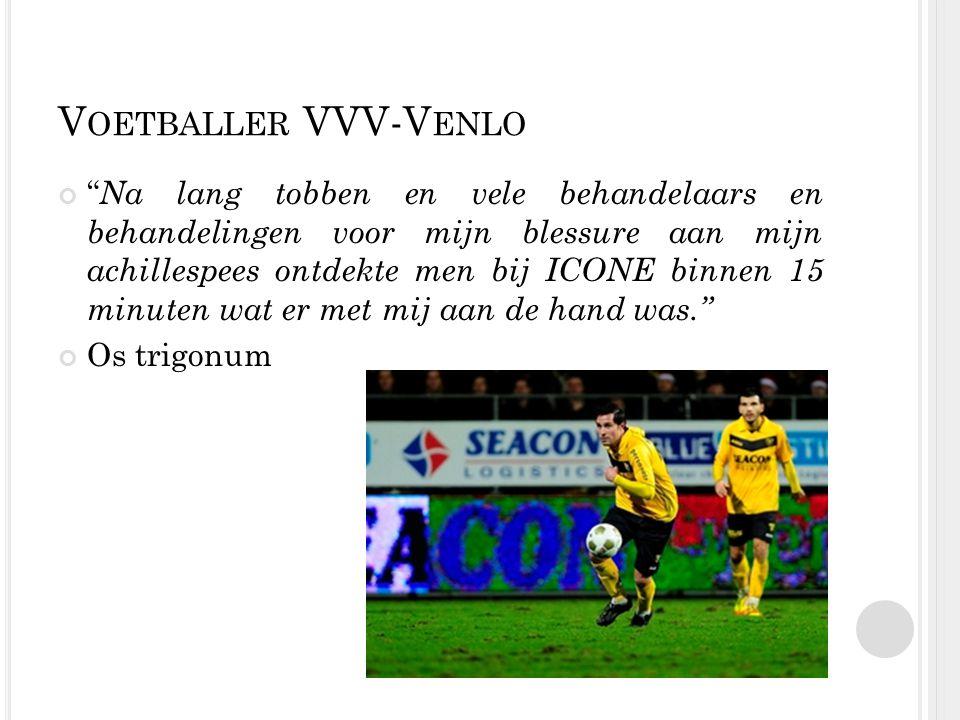 Voetballer VVV-Venlo