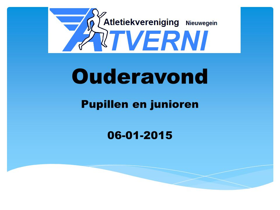 Pupillen en junioren 06-01-2015