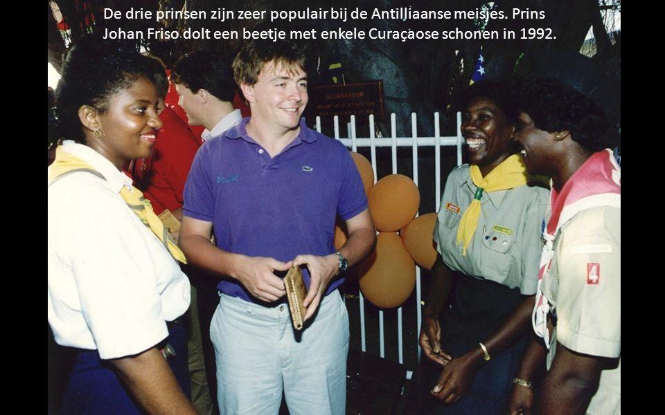 De drie prinsen zijn zeer populair bij de Antilliaanse meisjes