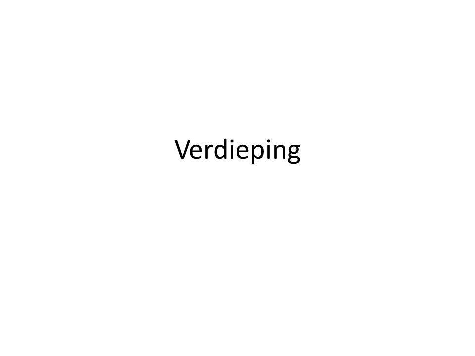 Verdieping