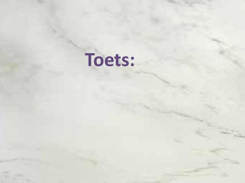 Toets: